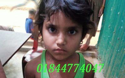 Jomila Begum, age 7, missing