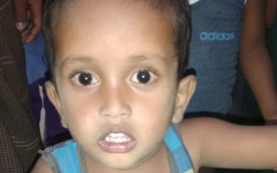 A child was found in Tankhali camp 13, missing