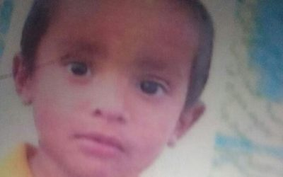 Mohammed Onais, age 2, missing