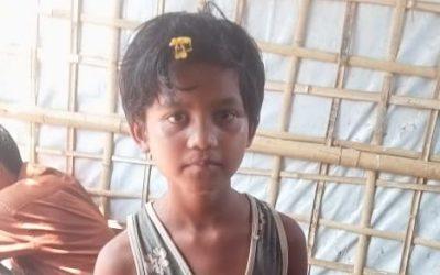 A child was found in Balukhali Musara Bazar missing