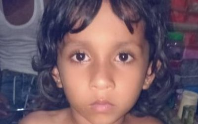 A child was found in Balukhali camp 18 missing