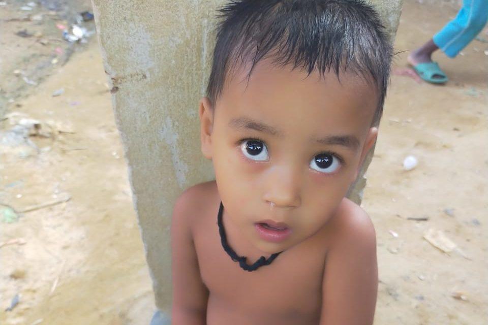 A young child was found in Kutupalong lambasiya missing