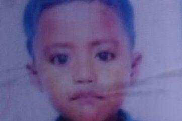 Anisur Rahman, age 4 missing