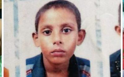 Mohammed Arfat, age 12