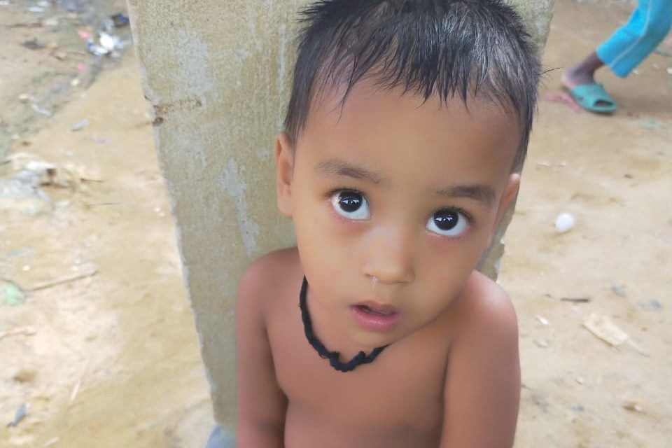 A young child was found in Kutupalong lambasiya Bazar