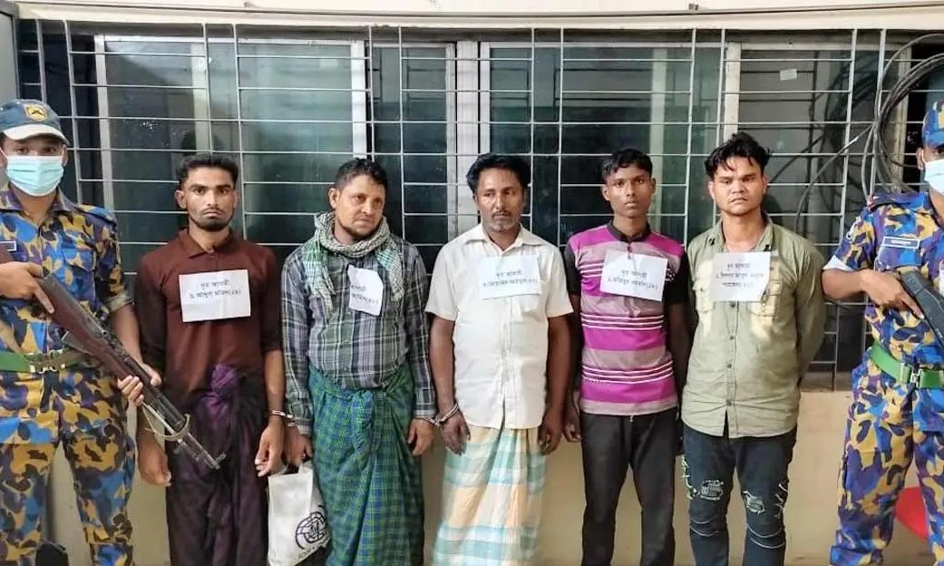 A case was filed against 25 arrested and 200/250 unknown suspects in connection to the violent attack in camp-18 in Ukhiya police station