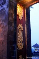 Door of the temple