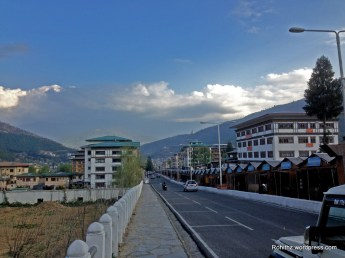 Thimphu roads