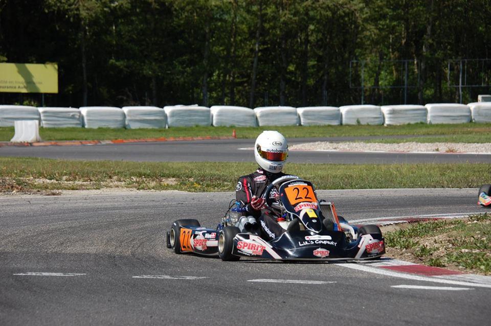 victoire de Nicolas Rohrbasser à Lignières en KZ2