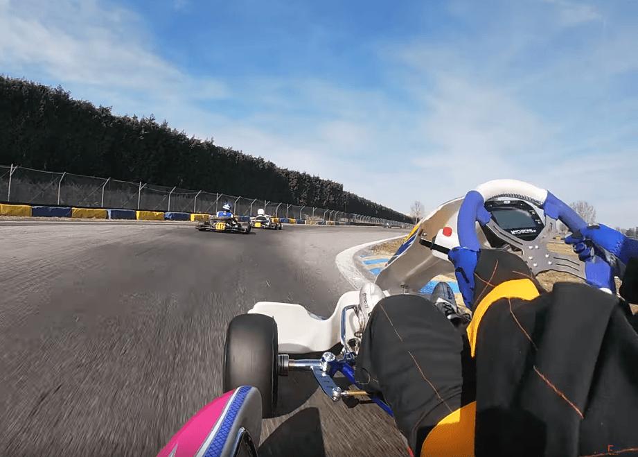 Coaching vidéo karting - Rohrbasser Driving School