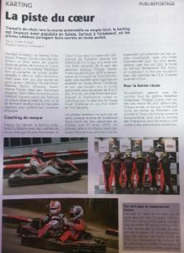 Coaching au karting de vuiteboeuf avec Nicolas Rohrbasser - Moteur Passion