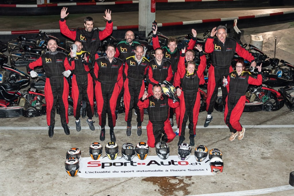 team building karting pour sport auto