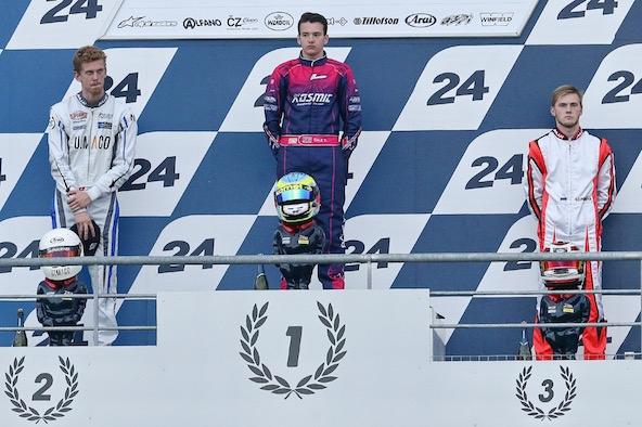 Nicolas Rohrbasser Vice Champion du Monde de Karting