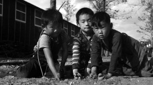 Japanese American children at Rohwer Camp