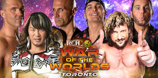 ROH & NJPW War of the Worlds Tour: 12 Officially Announced Talents + Super Match in Toronto