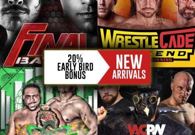 New arrival on FITE: ROH Final Battle 2017