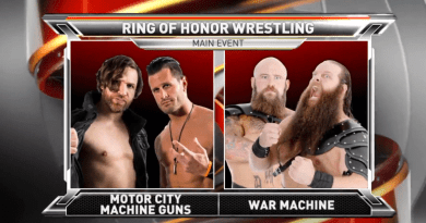 ROH 07/08/17 TV Review