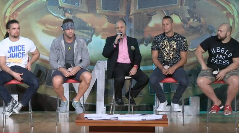 CMLL Informa Report: Matt Taven, Michael Elgin and Juice Robinson