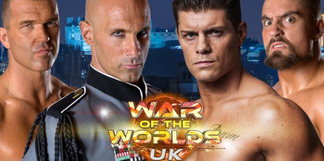 War of the Worlds UK Edinburgh Matches