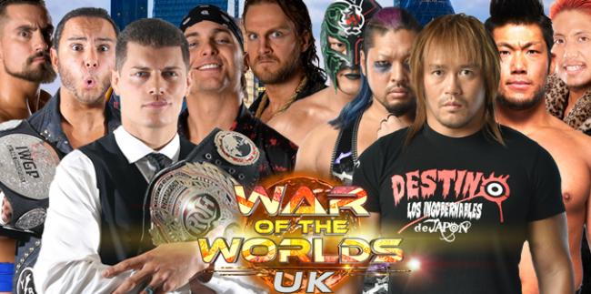 War of the Worlds UK London Main Event: Bullet Club vs LIJ