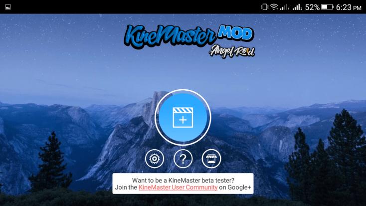 ScreenShot KineMaster Diamond App
