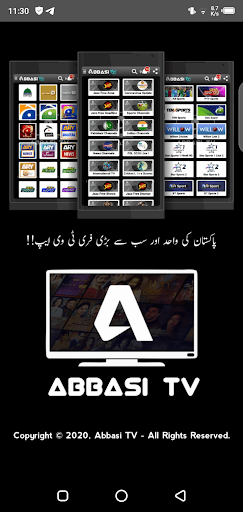 Screenshoot of Abbasi Tv