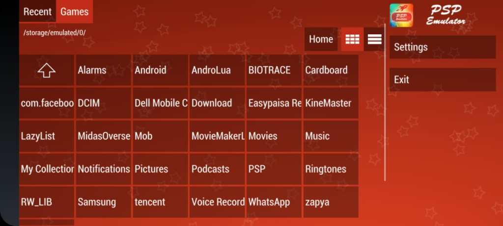 Screenshot of PS4 Emulator Apk App