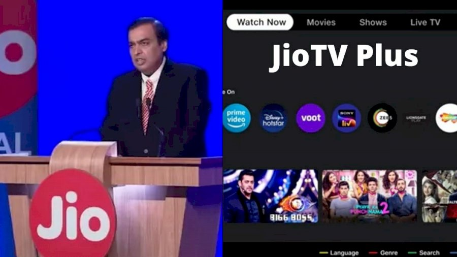 Screenshot of Jio TV Plus for Android