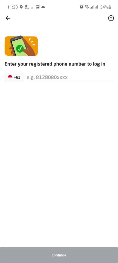 Screenshot of GoPartner Apk