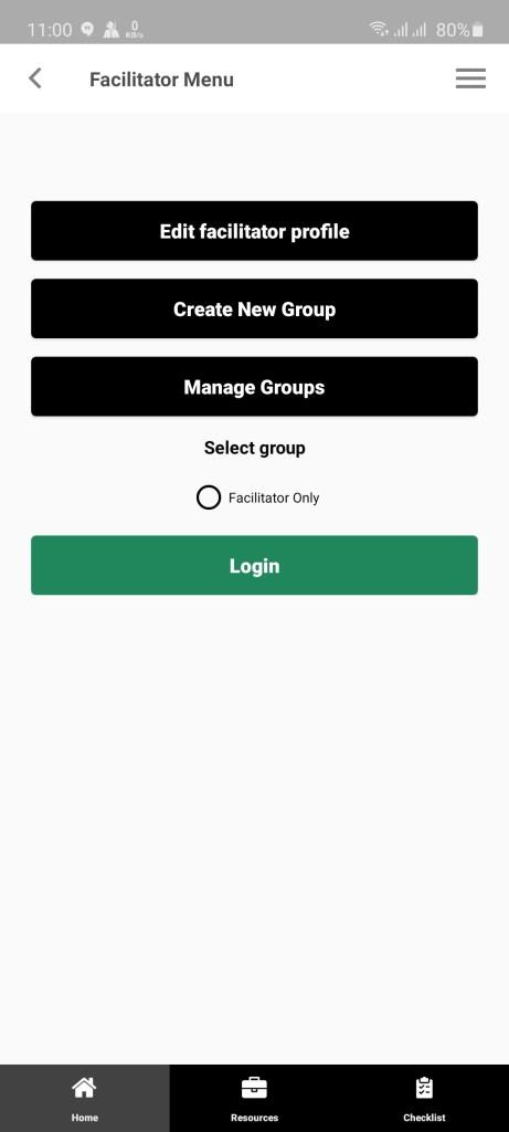Screenshot of SHGUrban App