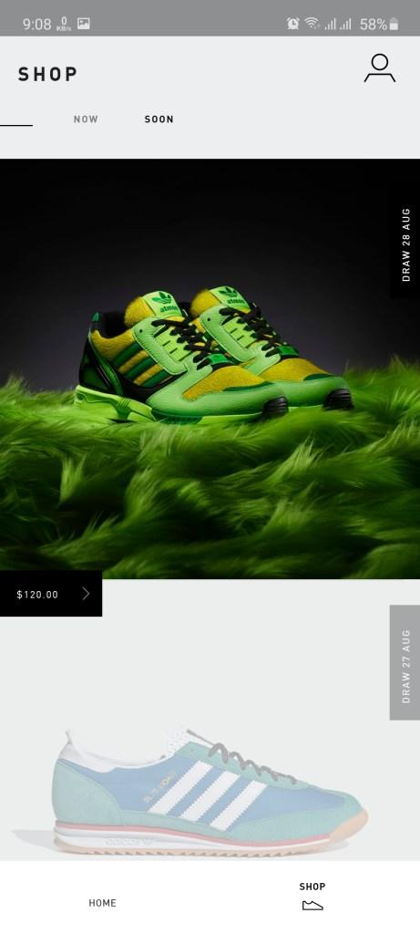 Screenshot of What is Adidas Confirmed App