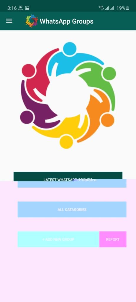 Screenshot of WhatsApp Group Link