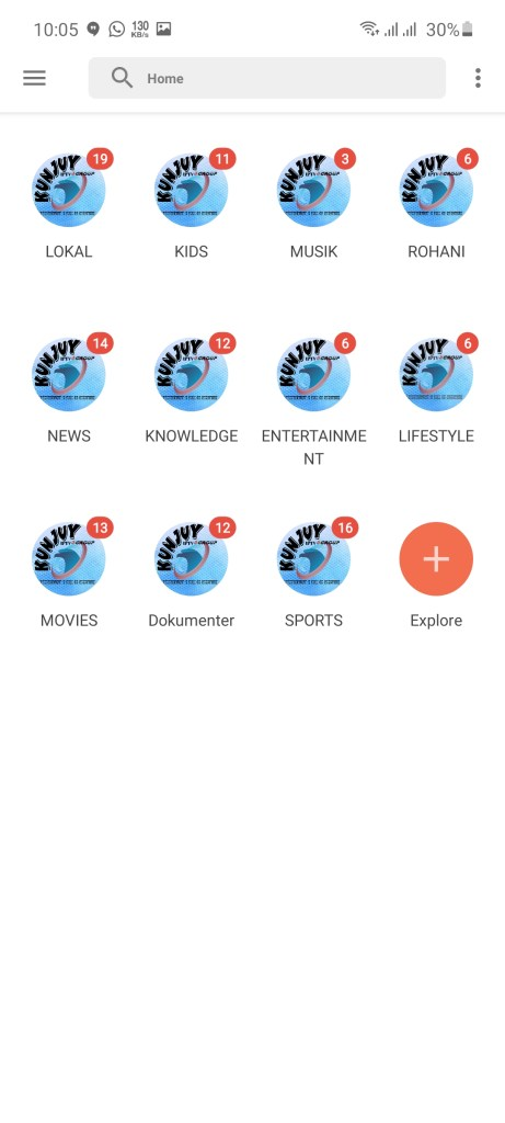 Screenshot of KUNJUY App
