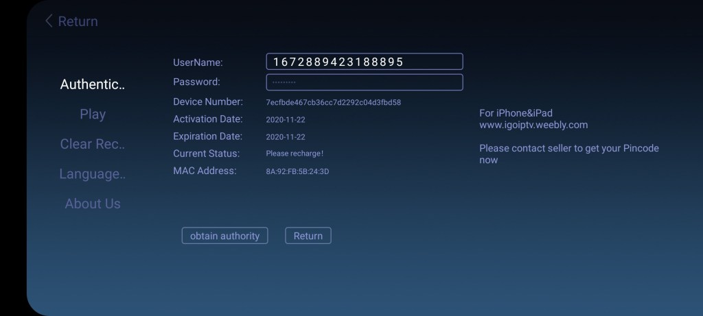 Screenshot of SyberTV Mod Apk