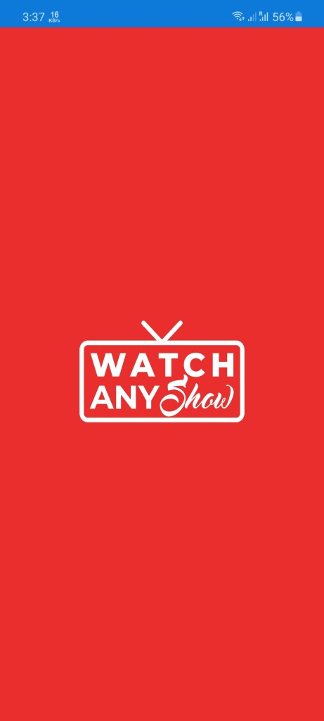 Screenshot of Watch Any Show Apk