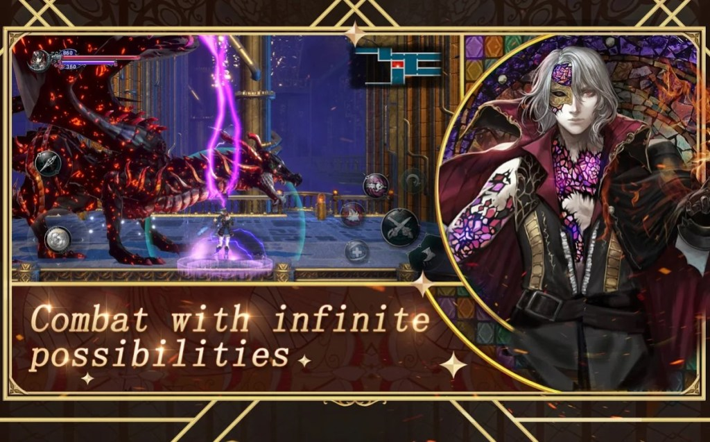 Screenshot of Bloodstained Ritual Of The Night Game