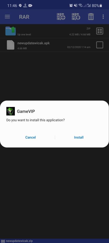Screenshot of Game VIP Ml