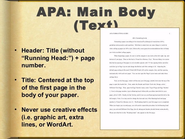 Advantages Of Using Apa Format Style Roi Investing