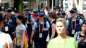 Police on streets brisbane