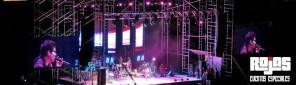 Escenario conciertos en vivo
