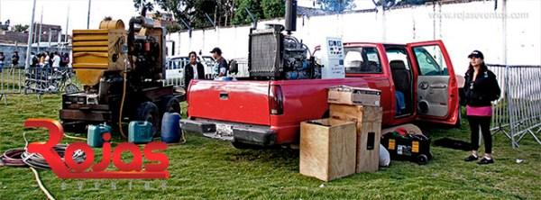 generador electrico para conciertos huancayo