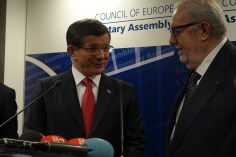 Davutoglu and Jean Claude Junker