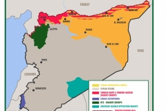 RIC MAP Syria Zones with Turkish Buffer Zone
