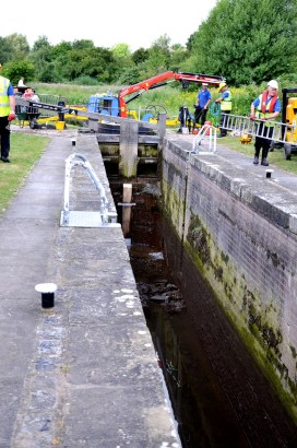 Morse lock under repair