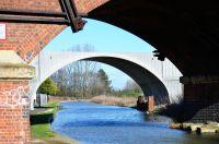 New bridge through old bridge