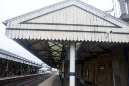 Worksop station canopy