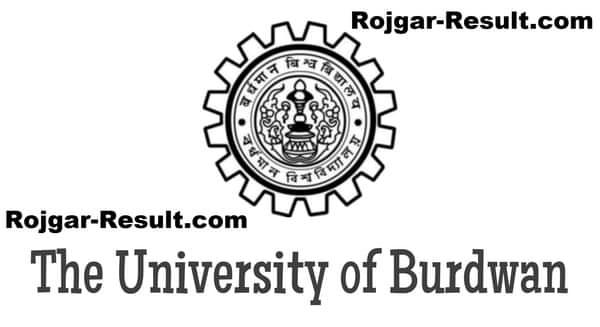 Burdwan University Recruitment BU Recruitment
