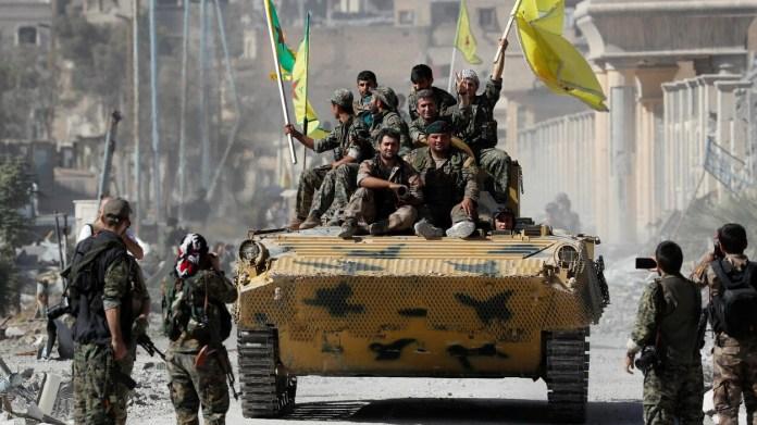 Raqqa a été totalement libérée par les FDS