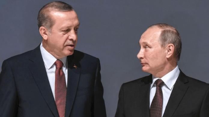 Erdogan se plaint du régime Syrien auprès de Poutine