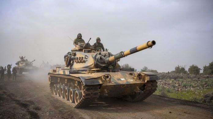 L'armée turque bombarde à nouveau des villages du nord de la Syrie